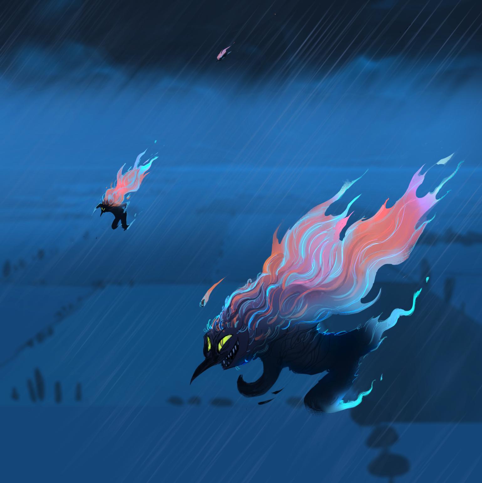 Die Geister des Sturms