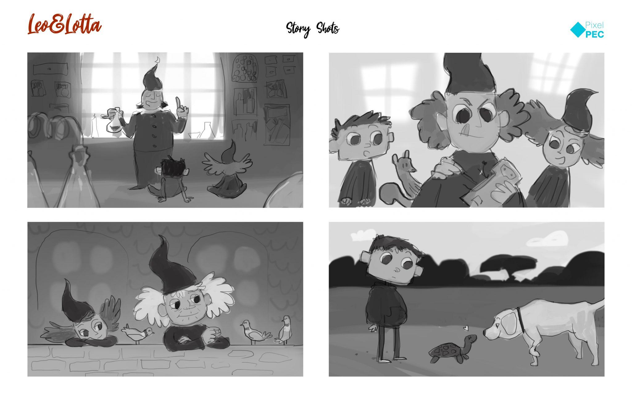 Impressionen von möglichen Geschichten aus der Welt von Leo&Lotta