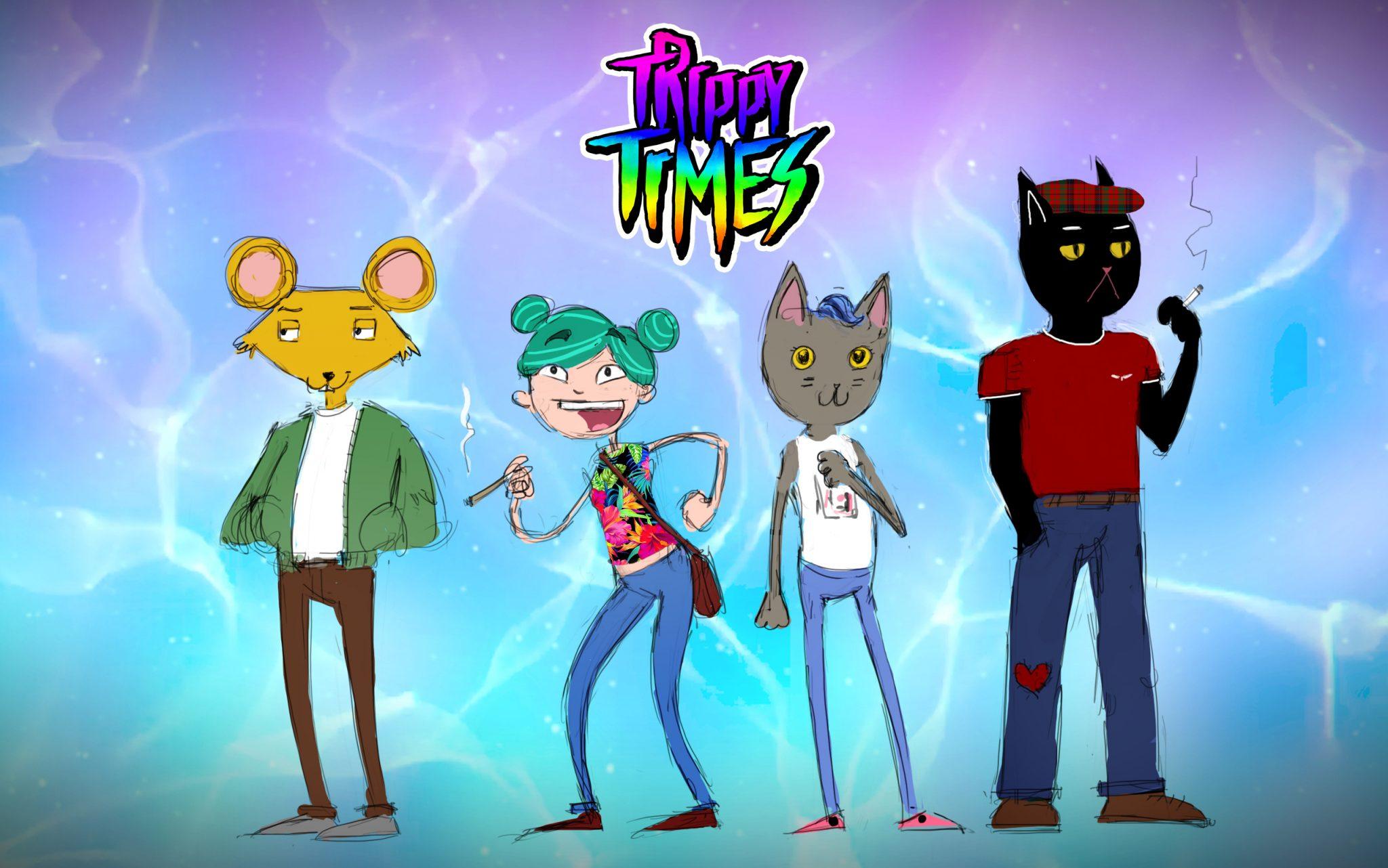 Characterdesign von jungen Erwachsenen